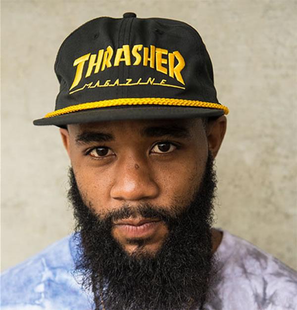 4ae069e9cb151 Thrasher Magazine snapback hat Capps rusher Rope Snap-Back Hat skateboard  SKATE SK8 skateboarding HARD CORE PUNK hard-core punk HIPHOP hip-hop SURF  サーフ ...