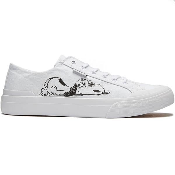 a24e66970b Huf x Peanuts sneakers shoes Hough Snoopy Snoopy Classic Lo Peanuts Shoe  9.5 size White skateboard SK8 skateboarding HARD CORE PUNK hard-core punk  HIPHOP ...