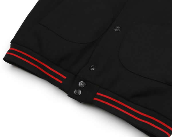 71797aa47c37e Billionaire Boys Club award jacket jacket BBC billionaire Boys club RAYGUN  VARSITY JACKET BLACK Pharrell Williams Farrell Williams skateboard SKATE  SK8 ...