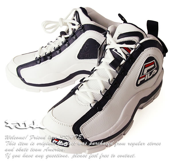 017c9d22b4f3 FILA reproduction sneakers higher frequency elimination basketball shoes  basketball shoes Fila 96 GL Grant Hill signature model White skateboard  SKATE SK8 ...
