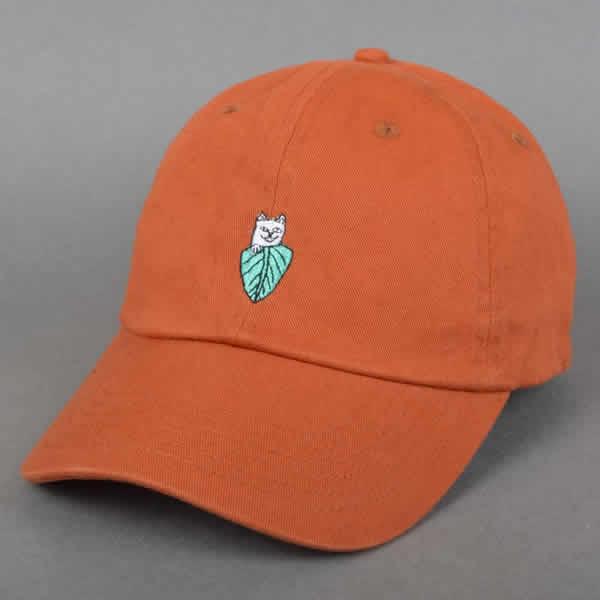 b50dfefde790c ... RIPNDIP キャップダッドハットベースボールキャップネコ cat リップンディップ Nermal Leaf Dad Hat ...