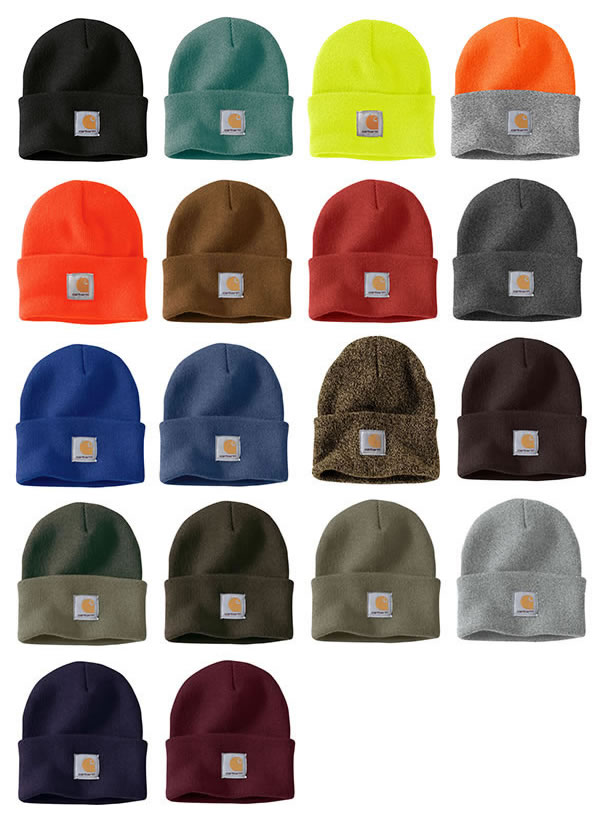 673df600cd4789 Carhartt knit cap beanie hat car heart plain fabric 13 colors Acrylic Watch  Hat KNIT CAP ...