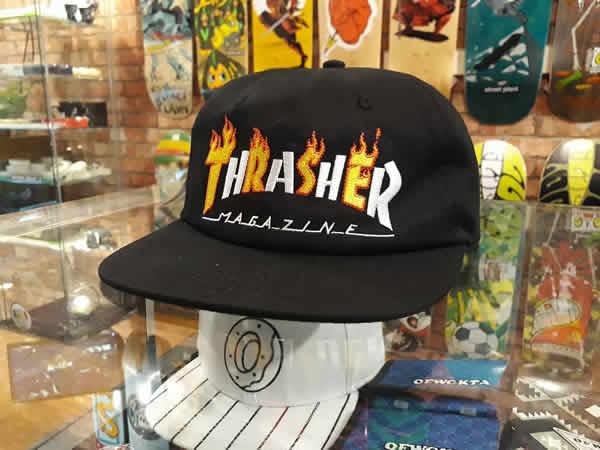 78afe964c Thrasher Magazine (slasher) cap snapback hat hat (US plan) Flame Mag  Snap-Back Hat Black skateboard SKATE SK8 skateboarding HARD CORE PUNK  hard-core ...