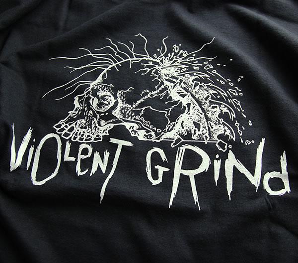 de4d03ffd ... VIOLENT GRIND (I grind bioLent) long T-shirt Ron T long sleeves Long