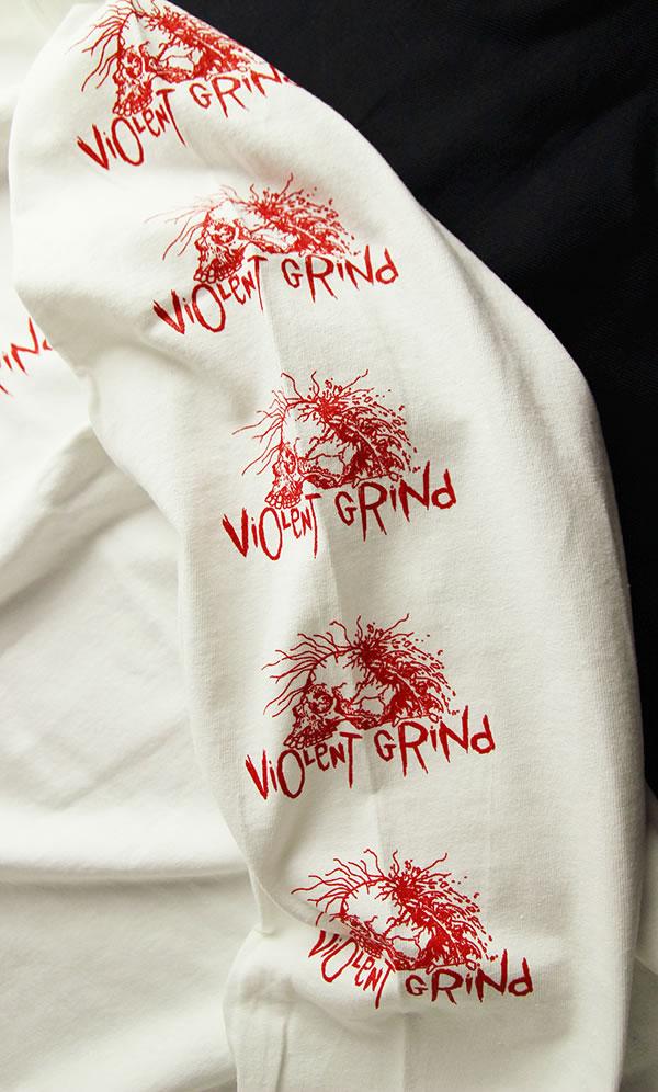 15ce7ce21 ... VIOLENT GRIND (I grind bioLent) long T-shirt Ron T long sleeves Long ...