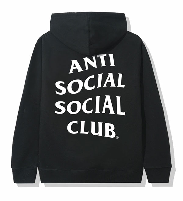 AntiSocialSocialClub (アンチソーシャルソーシャルクラブ) パーカー プルオーバー Mind Games Hoodie Black AntiSocialSocialClub (アンチソーシャルソーシャルクラブ) パーカー プルオーバー Mind Games Hoodie Black