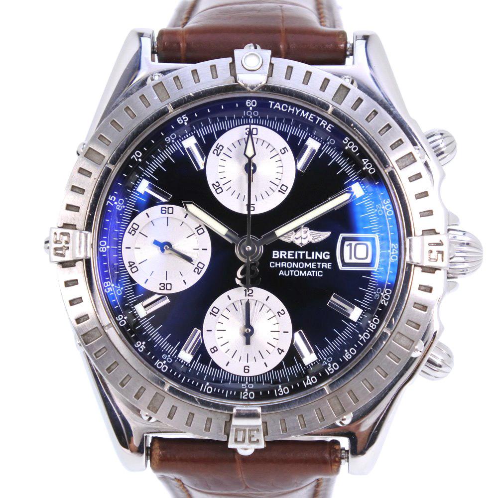 Blight Ring Kurono Mat A13352 Stainless Steel Brown Self Winding Watch Men Lindera Board A Rank