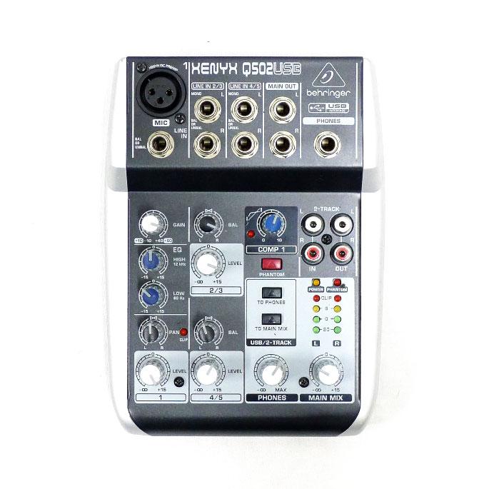 ベリンガー ☆ USB audio mixer XENYX Q502USB musical instrument accessories A- rank