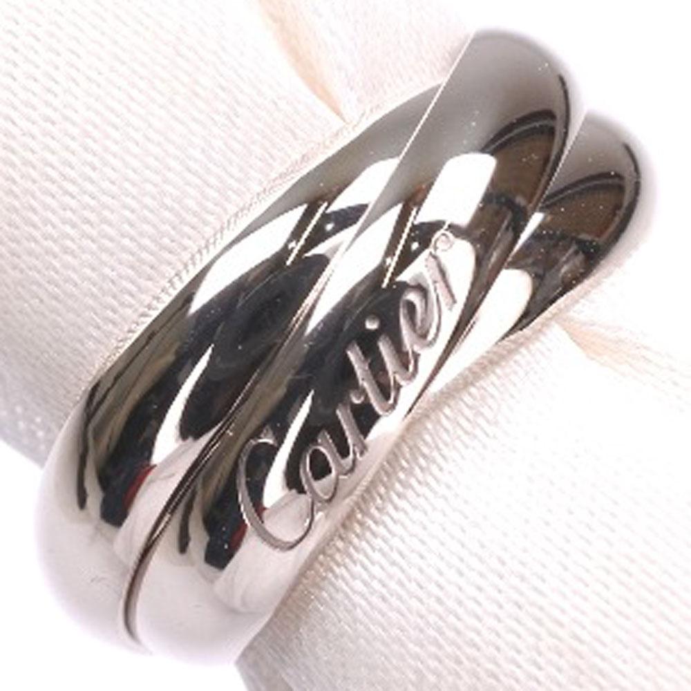 【CARTIER】カルティエ K18ゴールド 8.5号 49刻印 レディース リング・指輪【中古】SAランク