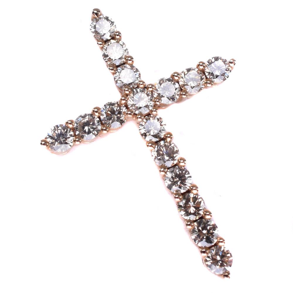 K18イエローゴールド×ダイヤモンド 0.80刻印 ユニセックス ペンダントトップ【中古】SAランク
