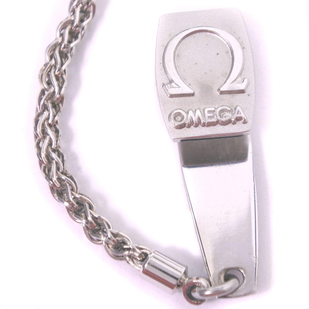 【OMEGA】オメガ cal.960 ステンレススチール シルバー 手巻き メンズ 白文字盤 懐中時計A-ランク