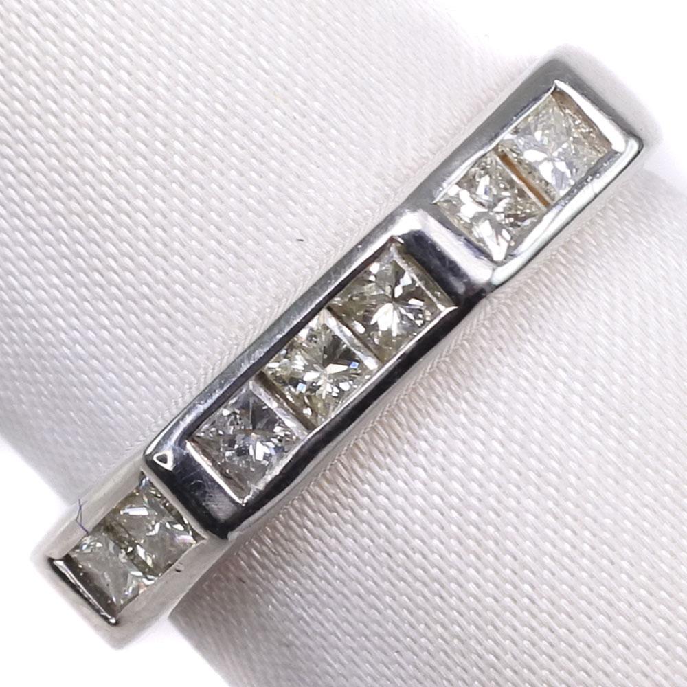 ダイヤモンド Pt900プラチナ 15号 0.60刻印 レディース リング・指輪【中古】SAランク