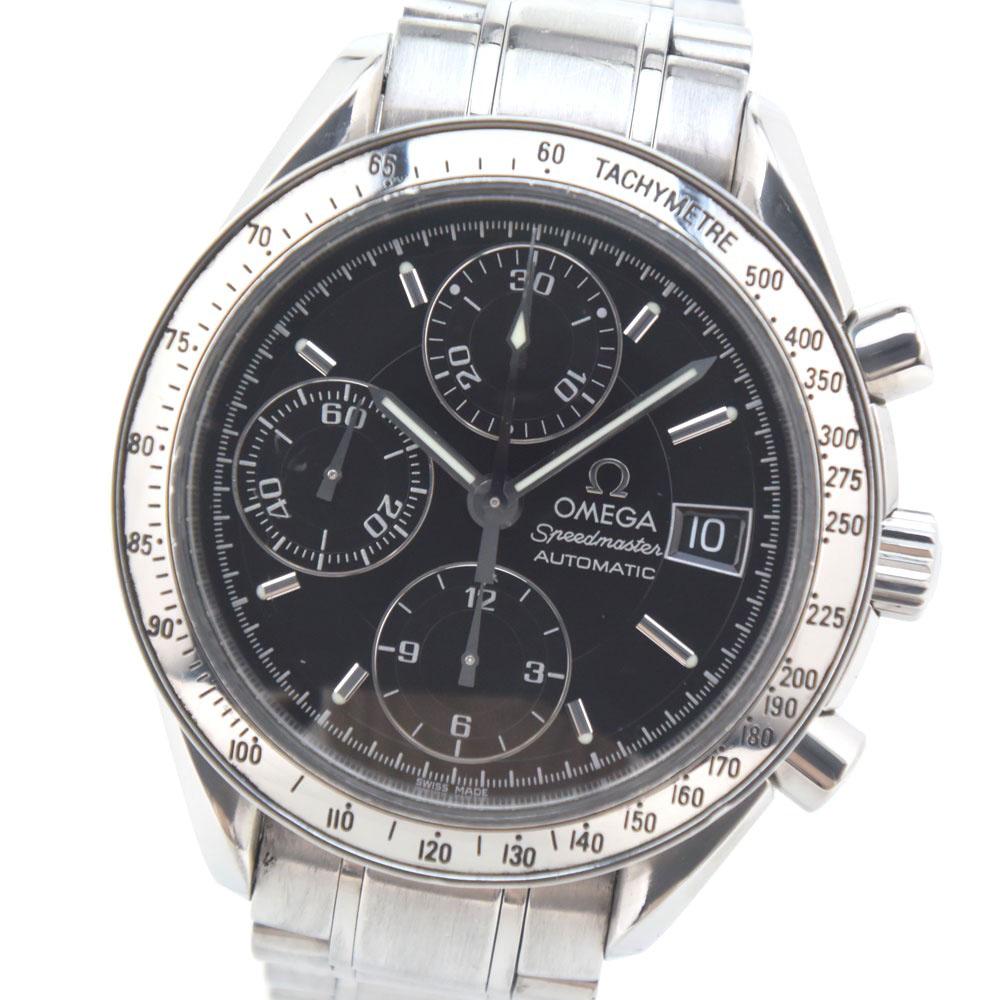 【OMEGA】オメガ スピードマスター 3513.50 ステンレススチール ブラック 自動巻き メンズ 黒文字盤 腕時計【中古】