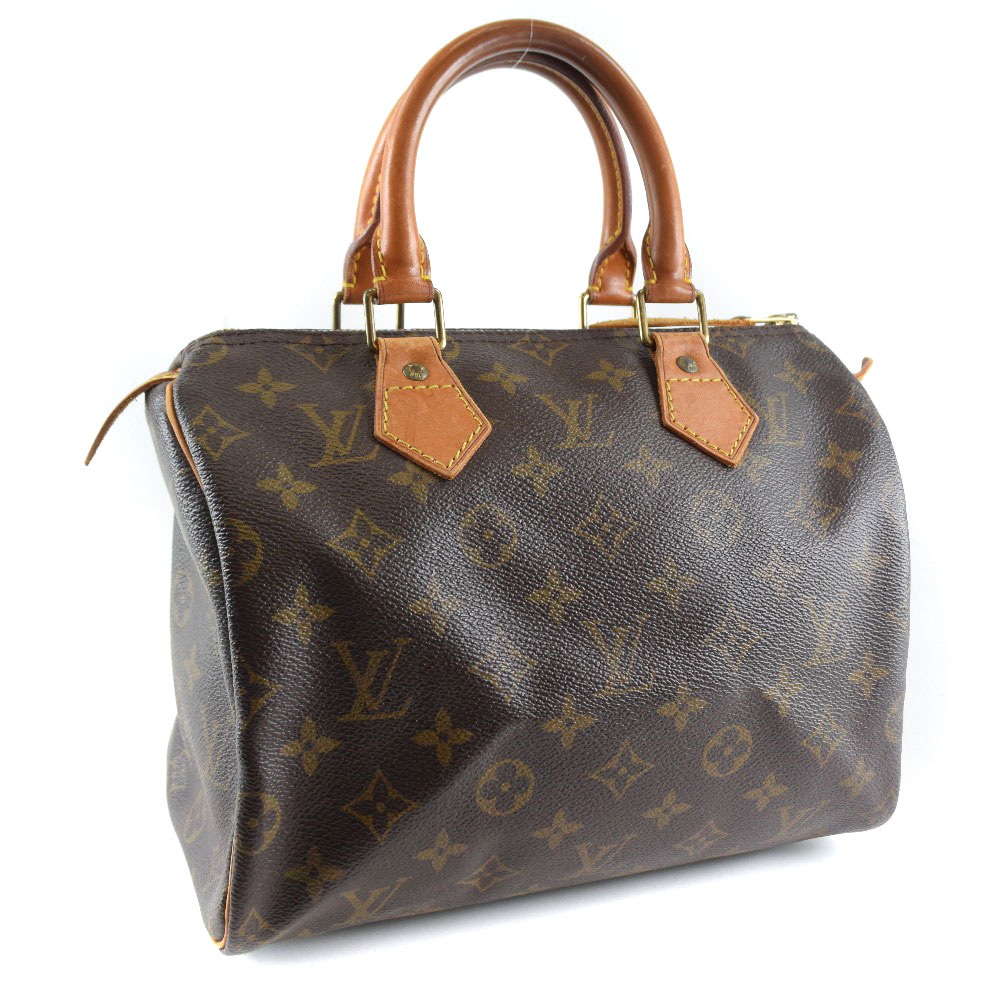 a5fea5a4a1ba Louis Vuitton speedy 25 mini-Boston M41528 monogram canvas brown Lady s  handbag