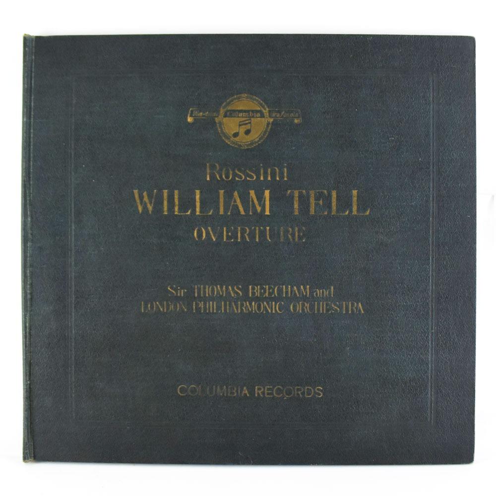 全品送料無料 レコード スーパーセール 業界No.1 10~50%OFF対象商品 COLUMBIA RECORDS コロンビアレコード Rossini 未使用品 中古 2枚組 WILLIAM TELLーOVERTURE ロッシーニ