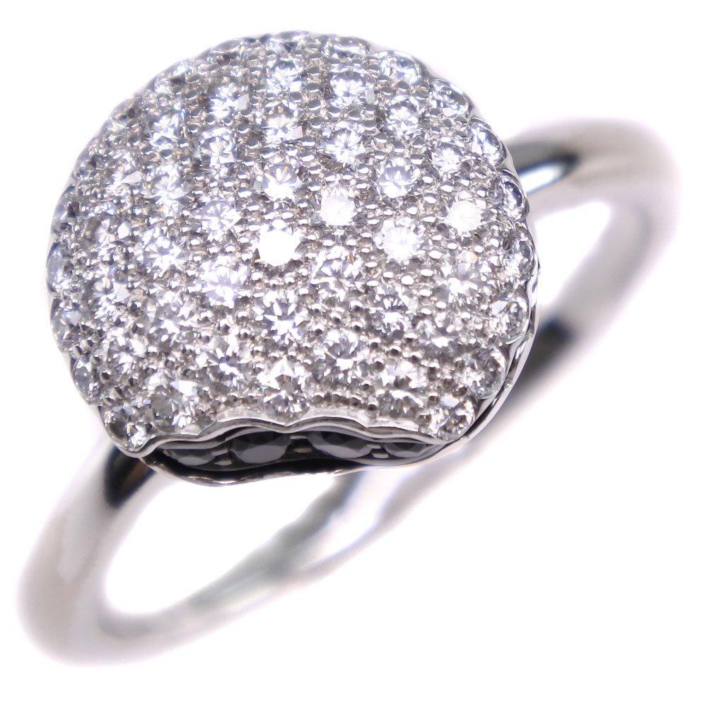 【Boucheron】ブシュロン マカロン タンタシオン ダイヤモンド K18ホワイトゴールド 16号 レディース リング・指輪【中古】SAランク