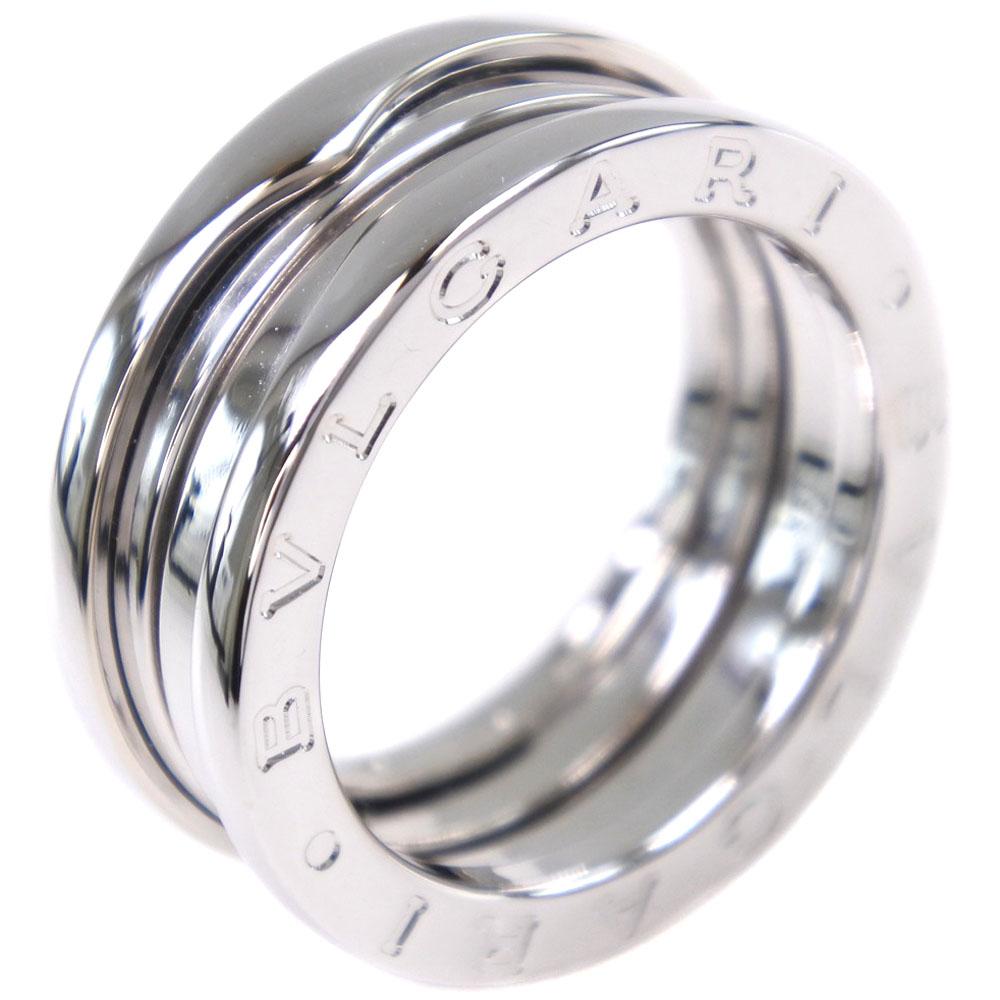 【BVLGARI】ブルガリ ビーゼロワン B-zero1 K18ホワイトゴールド 12号 レディース リング・指輪【中古】A+ランク