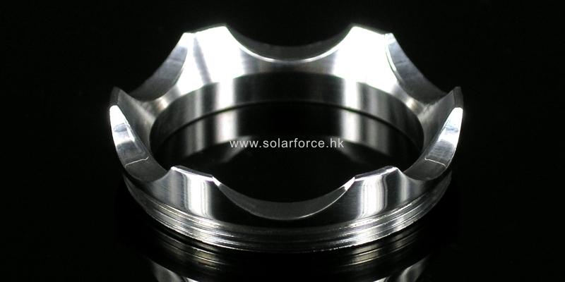 Solarforce L2-B5 ステンレスフラットベゼル
