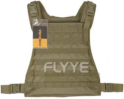 プレートキャリア Flyye MBSS Plate Carrier RG レンジャーグリーン INVISTA 1000Dナイロン使用 MOLLE対応 fy-vt-m002-rg サバゲー用ベスト