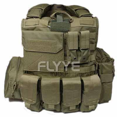 【即納】 Flyye Force Recon Vest with Pouch Set Ver.MAR RG