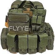 【即納】 Flyye Force Recon Vest with Pouch Set Ver.MAR OD