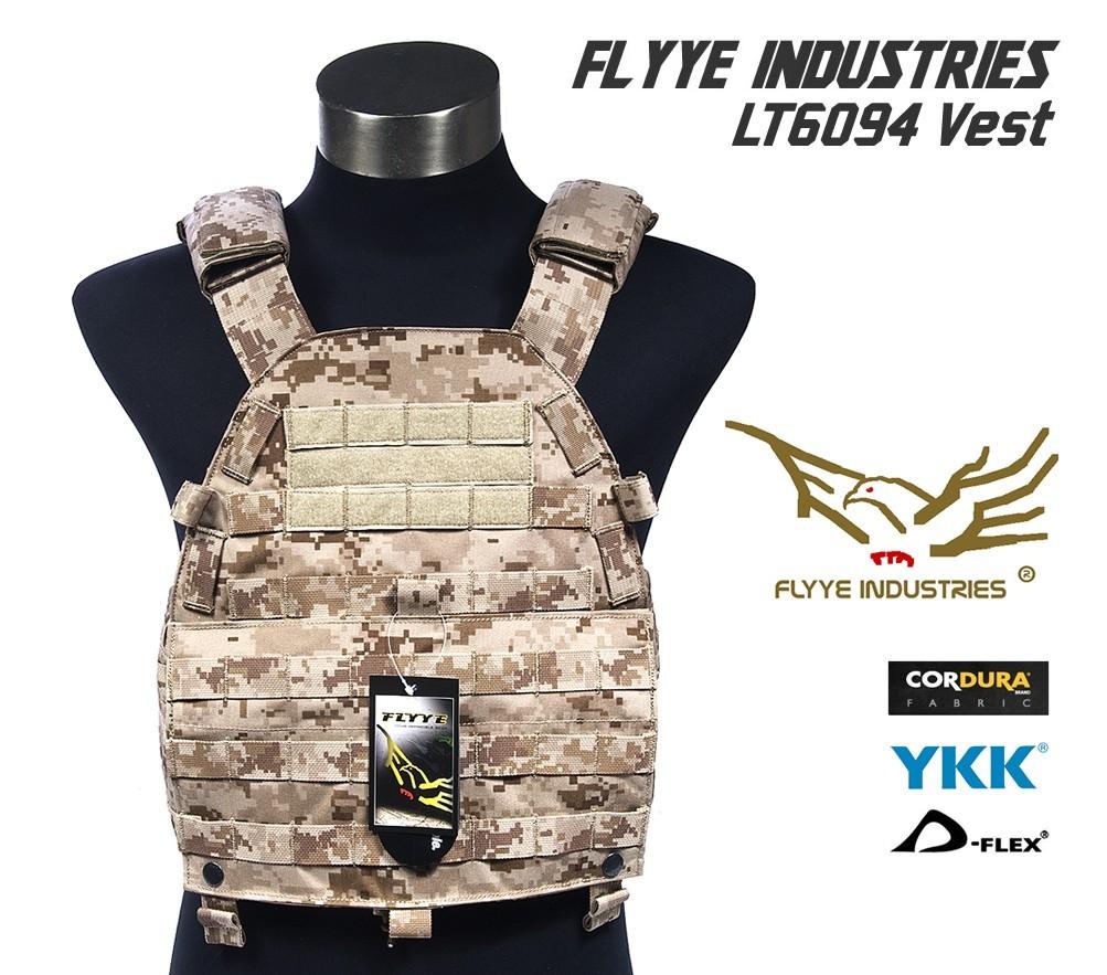 Flyye MOLLE LT6094 Vest AOR1 신사양