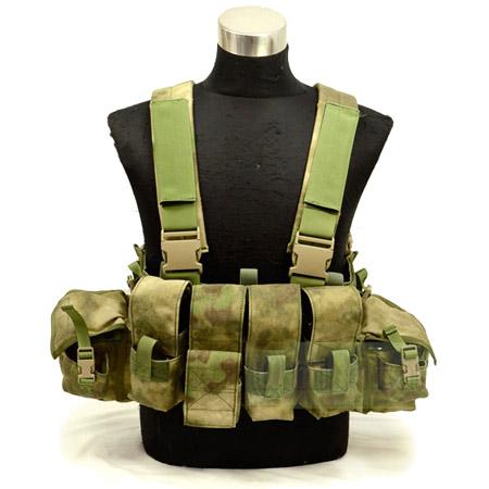 1961A チェストリグ Flyye サバゲー装備品 フライ Tactical 色/ LBT 1961A Flyye Band 色/ A-TACS FG サバゲー装備品 ロードベアリングチェストリグ 1000Dナイロン マガジンポーチ/ ユーティリティポーチ付き 防水 FY-VT-C001-FG DCS社実物生地使用, ゆにでのこづち:e0cc74db --- sunward.msk.ru