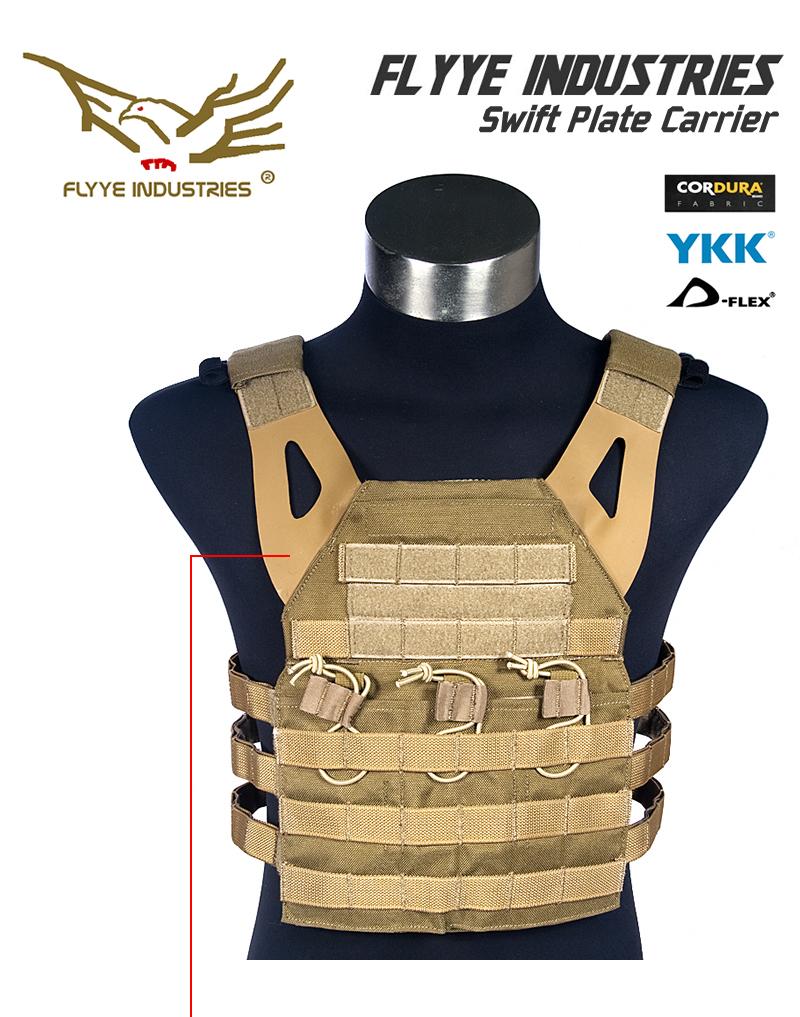 FLYYE フライ JPC ベスト プレートキャリア Swift Plate Carrier Vest CB Lサイズ 送料無料