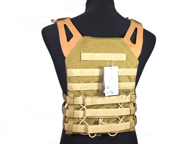【即納】FLYYE Swift Plate Carrier Vest KH Lサイズ JPC VEST