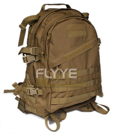 ミリタリーリュック Flyye 3DAY バックパック コヨーテブラウン CB ミリタリー基準 コーデュラ1000D実物生地使用
