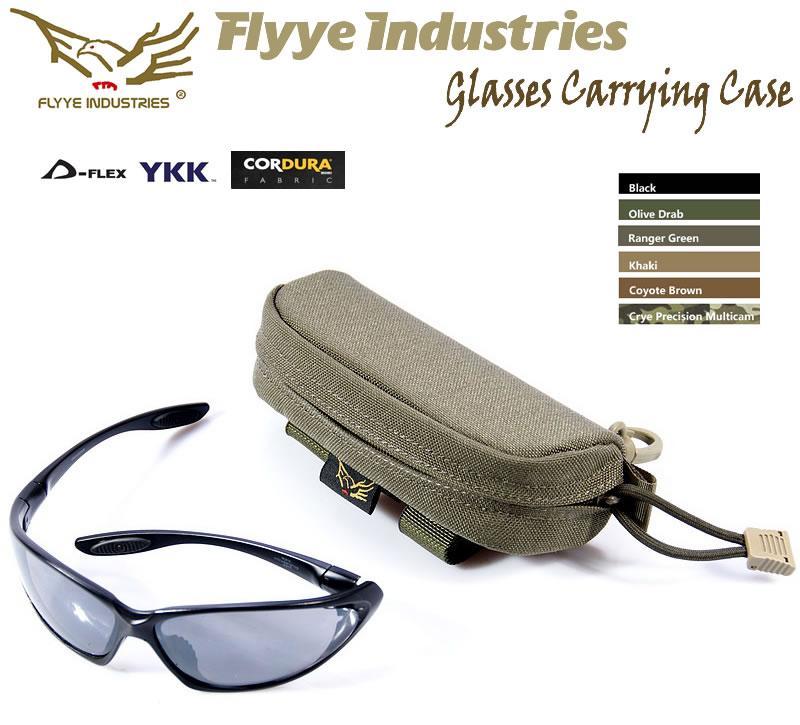 即納 Flyye Glasses Carrying メガネケース 安値 Case RG色 メーカー直送
