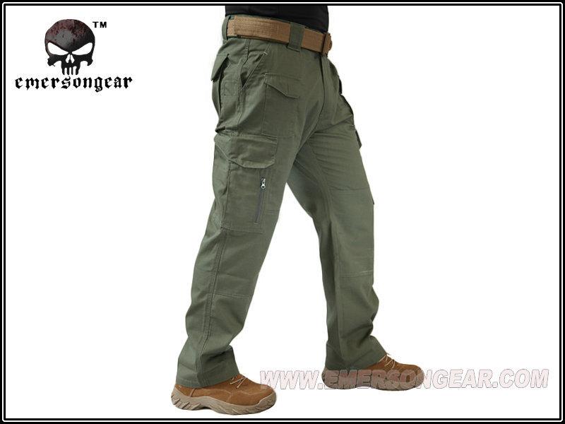 EMERSON製 アウトドア タクティカル パンツ ズボン OD S/M/L/XLサイズ 送料無料