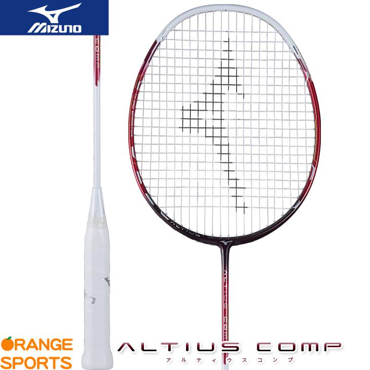 ミズノ mizuno アルティウス コンプ ALTIUS COMP 73JTB73162 バドミントンラケット 4U5 62 ホワイト×レッド