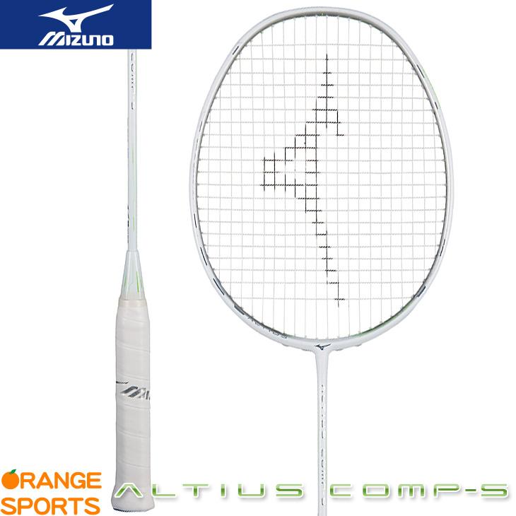 ミズノ MIZUNO アルティウス コンプ S ALTIUS COMP S 73JTB93135 バドミントン バドミントンラケット 4U6 ホワイト