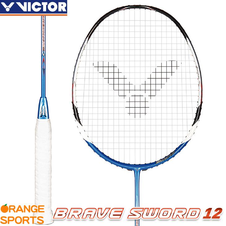 ビクター VICTOR ブレイブソード12 BRAVE SWORD BRS-12 3U5 4U5 バドミントンラケット 中級・上級者向 こちらの商品はご注文後のキャンセル・返品・交換はできません。