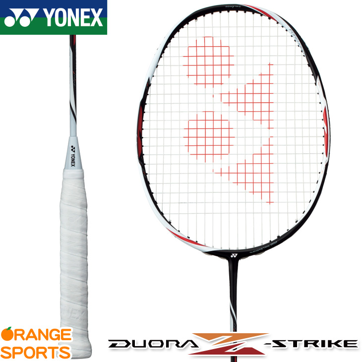ヨネックス YONEX デュオラ Z-ストライク DUORA Z-STRIKE DUO-ZS バドミントンラケット ブラック/ホワイト(245) 3U(平均 88g)4・5 2U(平均 93g)4・5