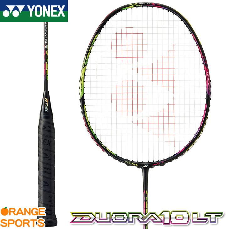 ヨネックス YONEX デュオラ10LT DUORA 10 LT DUO10LT バドミントン バドミントンラケット カラー:アクアナイトブラック(490) 4U(平均83g)4・5・6