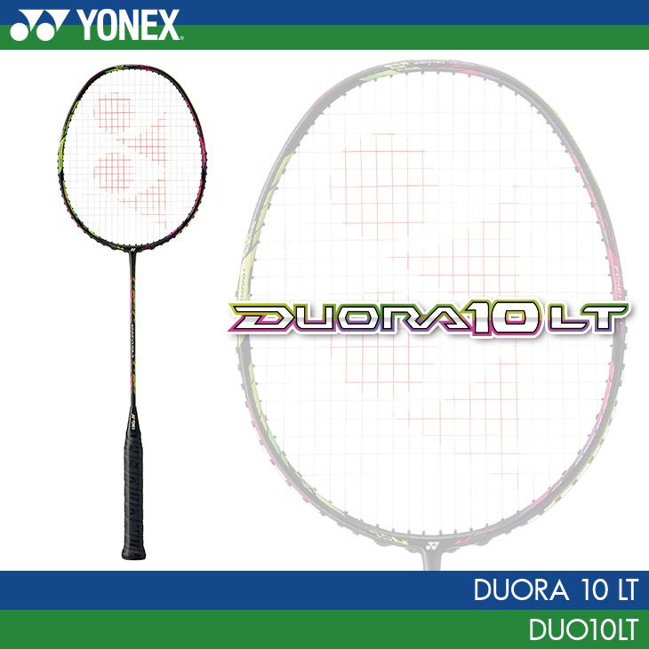 ヨネックス:YONEX デュオラ10LT Duora8XP DUO8XP バドミントンラケット カラー:アクアナイトブラック(490) 4U(平均83g)4・5・6