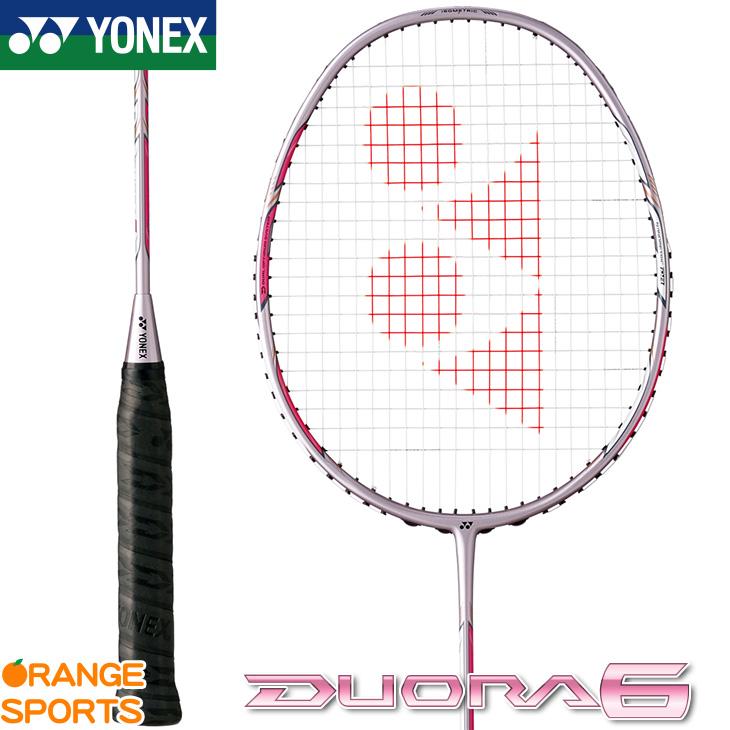 ヨネックス YONEX デュオラ6 DUORA6 DUO6 バドミントン バドミントンラケット シャインピンク(706) 4U(平均83g)5・6