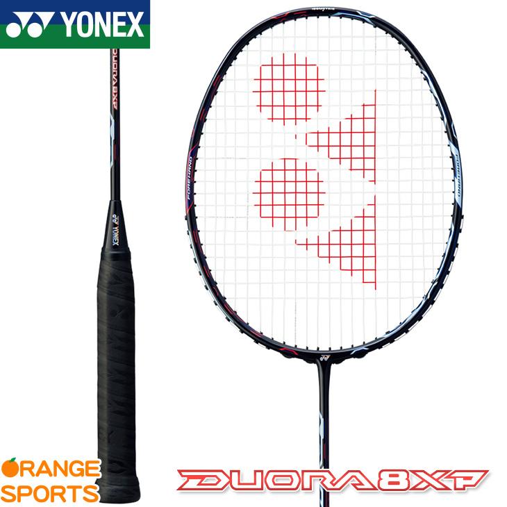 ヨネックス YONEX デュオラ 8 XP Duora 8 XP DUO8XP バドミントン バドミントンラケット アクアナイトブラック(490) 3U(平均88g)4・5