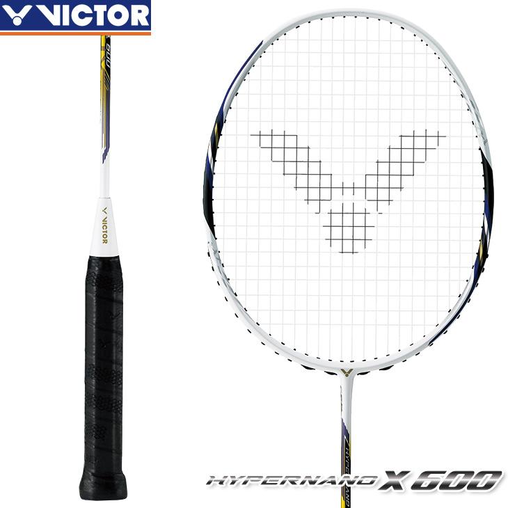ビクター VICTOR ハイパーナノ X 600 HYPERNANO X 600 HX-600 3U5 4U5 バドミントンラケット 中級・上級者向