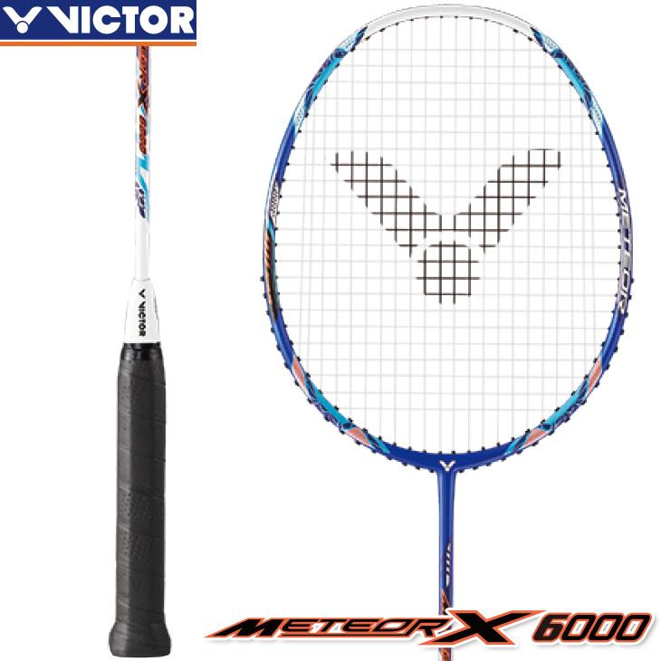 ビクター VICTOR メテオ X 6000 METEOR X 6000 MX-6000 3U5 4U5 バドミントンラケット 初級・中級者向