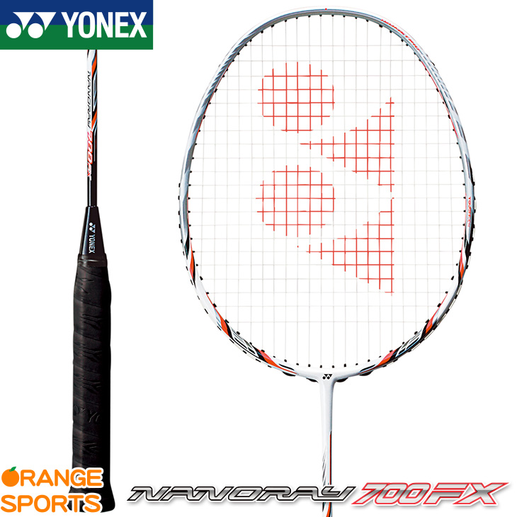ヨネックス YONEX ナノレイ 700 FX NANORAY 700 FX NR700FX バドミントン バドミントンラケット 4U(平均 83g)5・6、3U(平均 88g)4・5