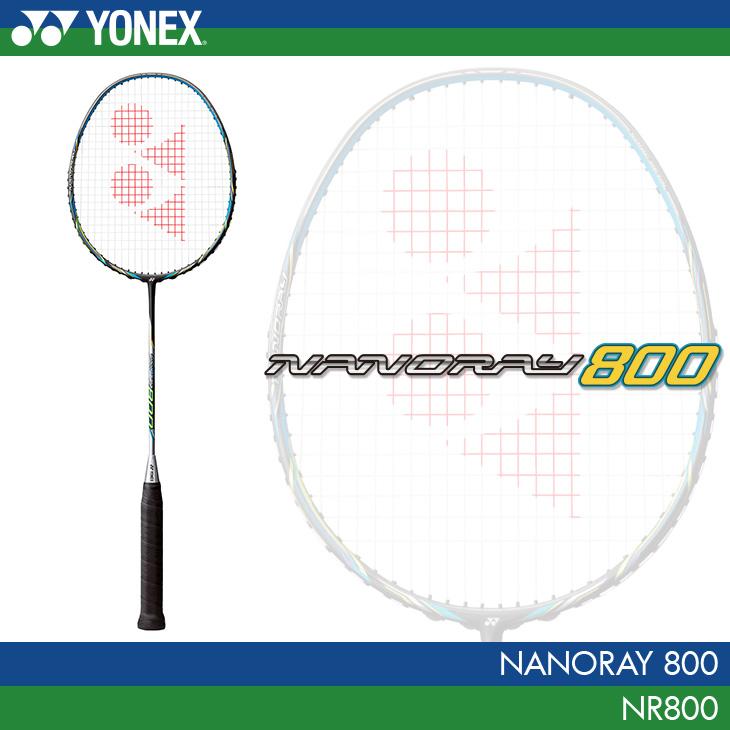 ヨネックス:YONEX ナノレイ 800 NANORAY 800 NR800 バドミントンラケット フラッシュブルー(360)
