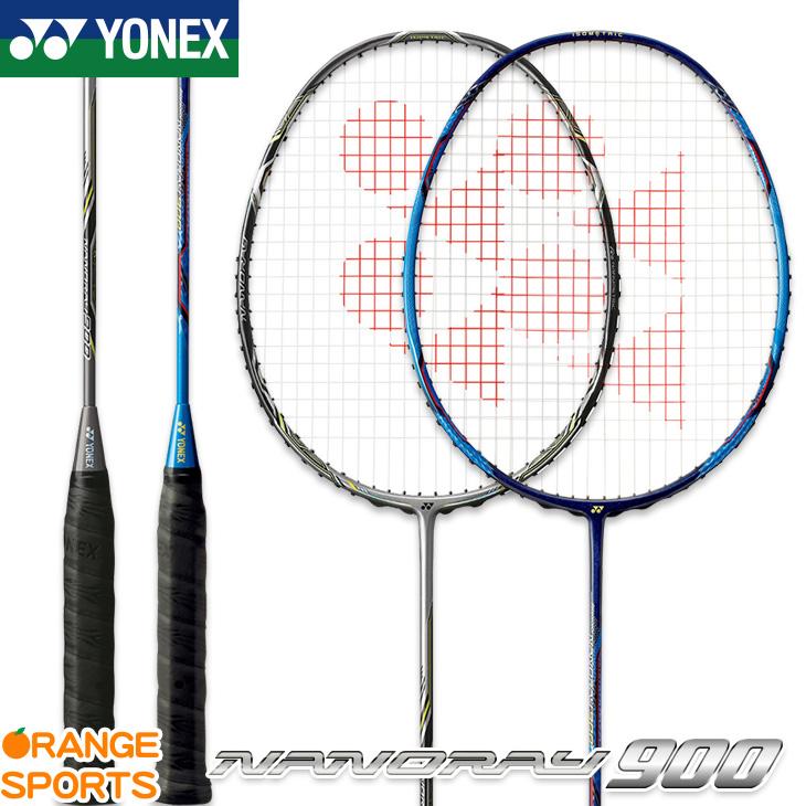 ヨネックス YONEX ナノレイ 900 NANORAY 900 NR900 バドミントン バドミントンラケット 2U(平均 93g)4・5、3U(平均 88g)4・5