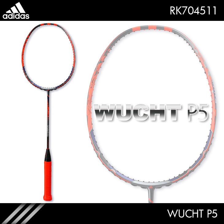 アディダス:adidas ヴフト P5  WUCHT P5 RK704511 4U5 バドミントンラケット