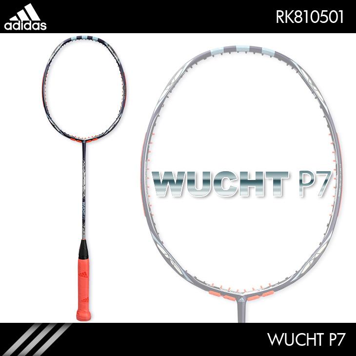 アディダス:adidas ヴフト P7  WUCHT P7 RK810501 4U5 バドミントンラケット