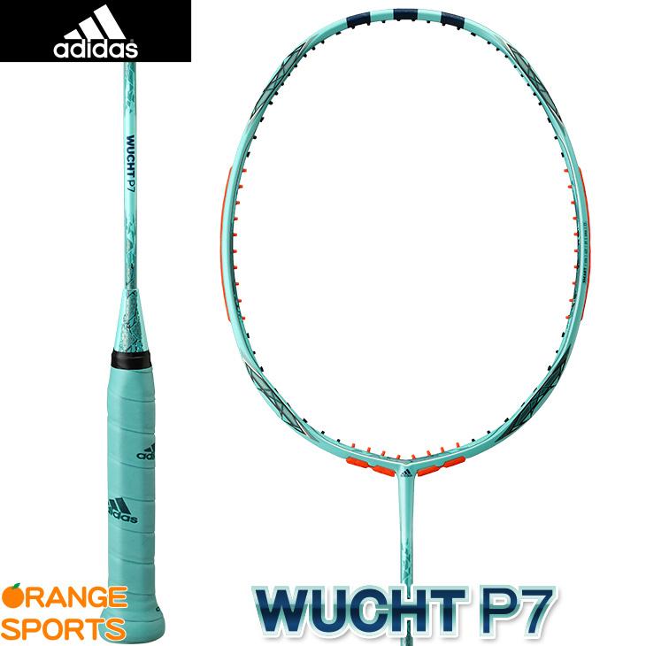 アディダス adidas ヴフト P7 WUCHT P7 RK906501 アイスミント 4U5(86g±2g) バドミントンラケット バドミントンラケット