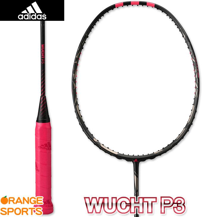 アディダス adidas ヴフト P3 WUCHT P3 RK909501 ブラック 3U5(86g±2g) バドミントンラケット