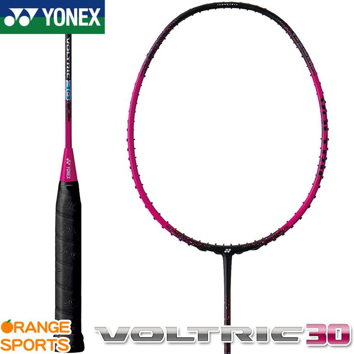 ヨネックス YONEX ボルトリック 30 VOLTRIC 30 VT30 バドミントン バドミントンラケット ブラック/マゼンタ(704) 5U(平均78g)5・6